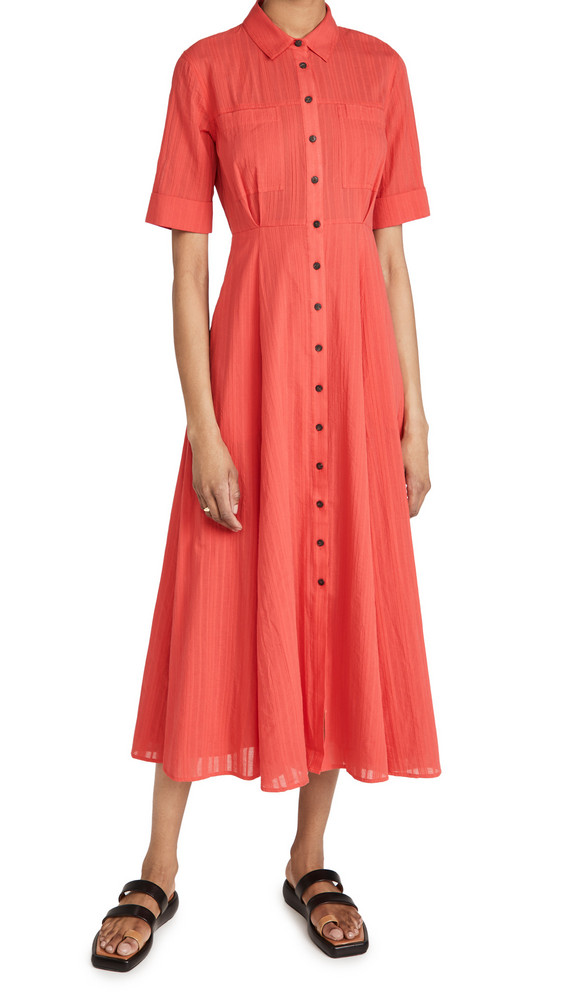 Mara Hoffman Lorelei Dress in red