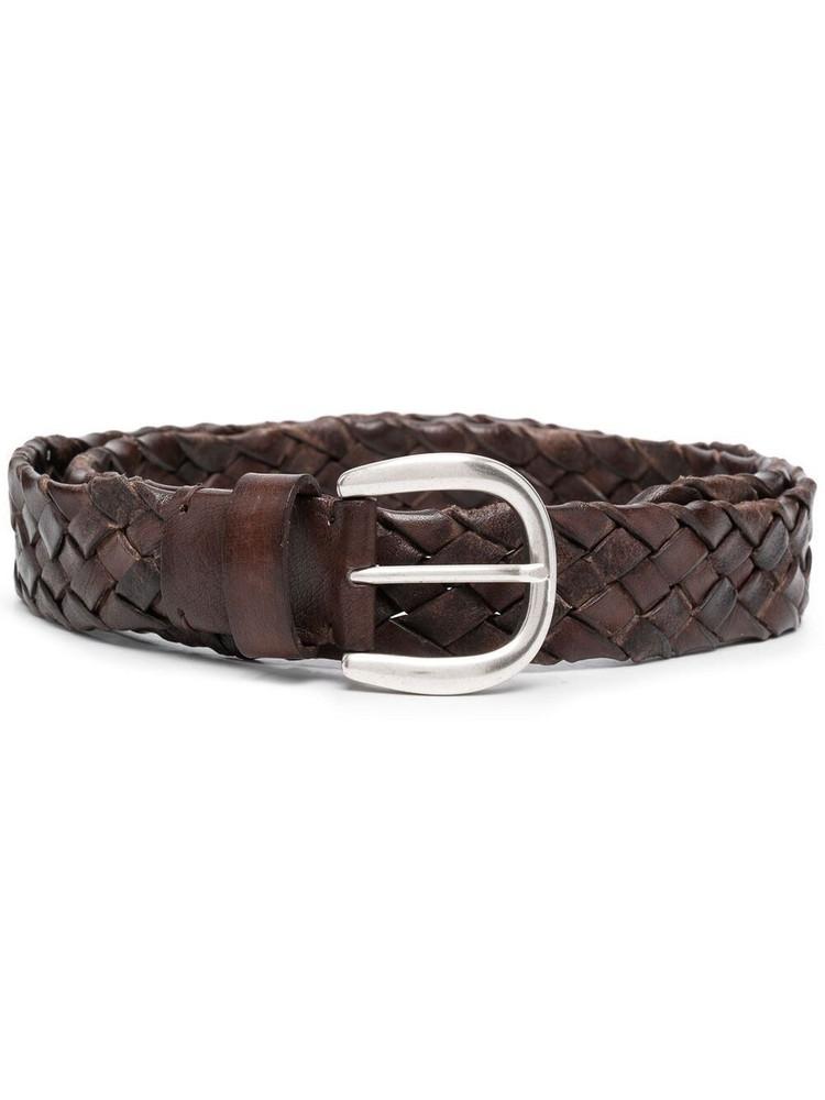 P.A.R.O.S.H. P.A.R.O.S.H. Bufy leather belt - Brown