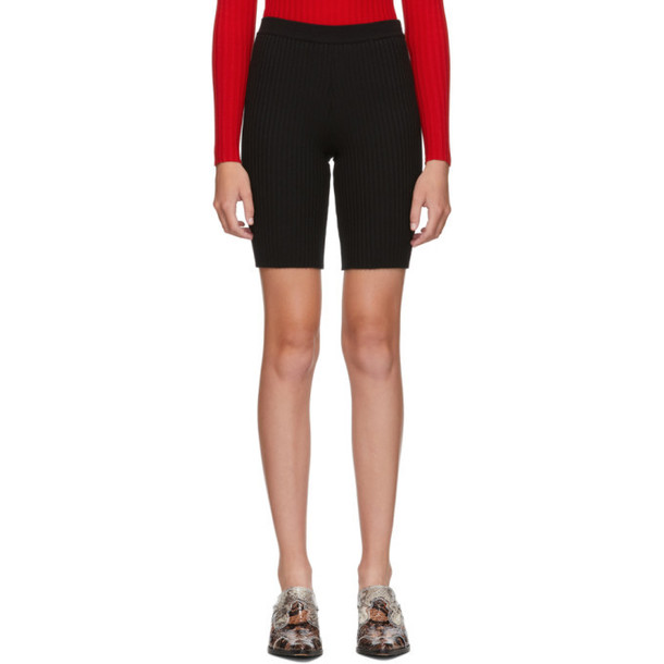 giu giu Black Nonna Bike Shorts