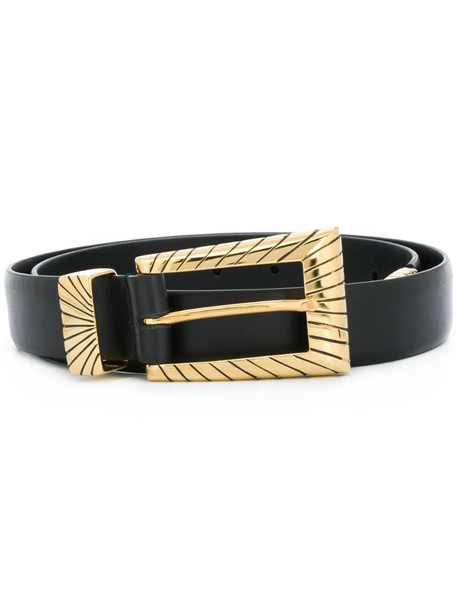 Alberta Ferretti buckled belt in black
