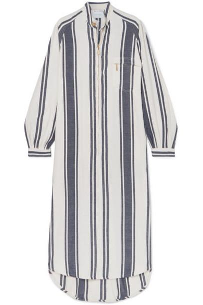 Lucy Folk - Cotton-blend Maxi Dress - White