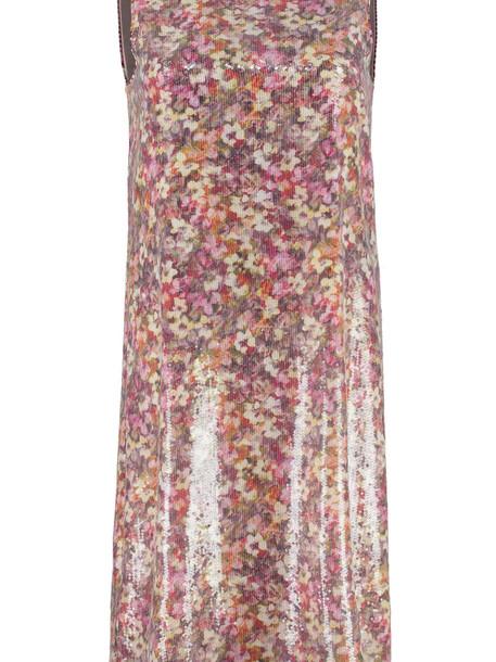 Max Mara Studio Blocco Sequined Dress