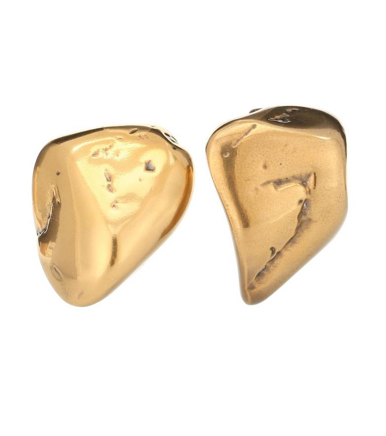 Balenciaga Rock earrings in gold