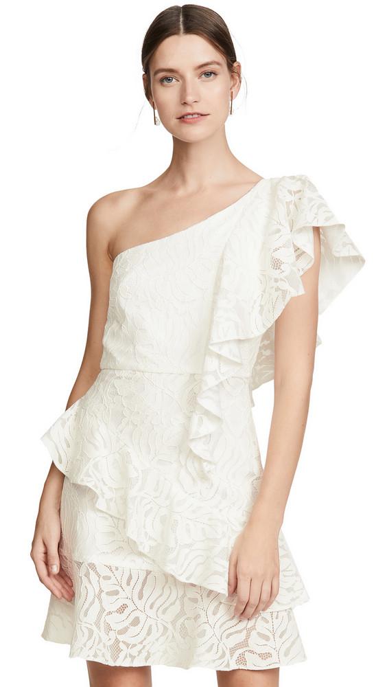 Borgo de Nor Lisa Lace Dress in ivory