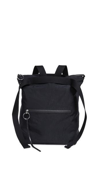Rebecca Minkoff Nylon Tote Backpack in black