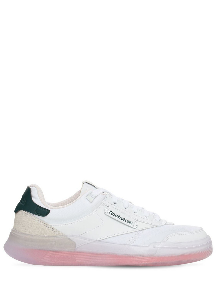 REEBOK CLASSICS Club C Legacy Sneakers in coral / white