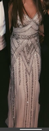 dress,embroidered dress,embellished dress