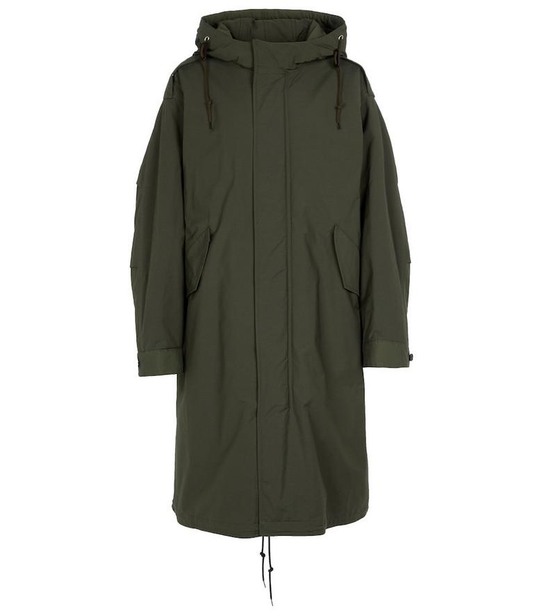 A.P.C. Gertrude parka coat in green