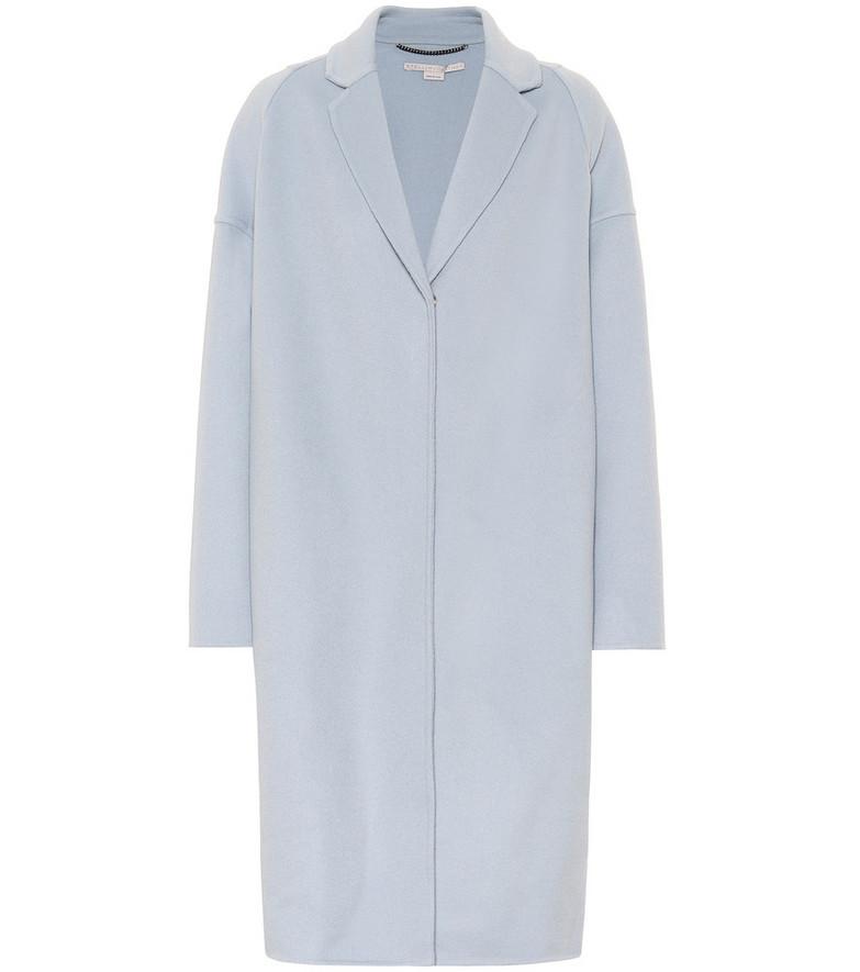 Stella McCartney Wool coat in blue