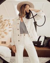 coat,top,jeans