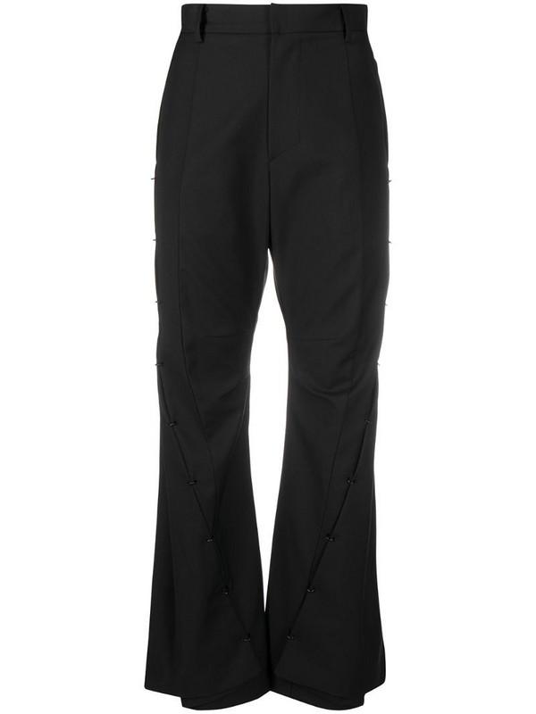 Hyein Seo high-rise flared trousers in black