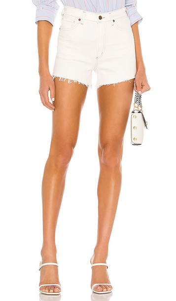 Citizens of Humanity Kristen High Rise Short in ivory