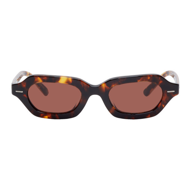 The Row Tortoiseshell Oliver Peoples Edition LA CC Sunglasses