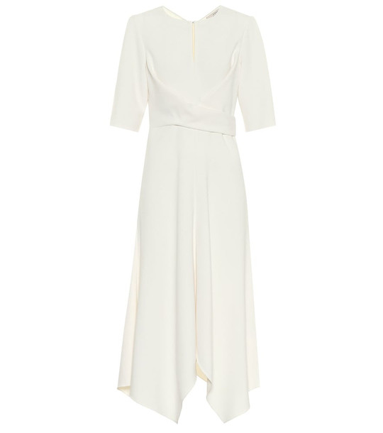 Dorothee Schumacher Sophisticated Perfection midi dress in white