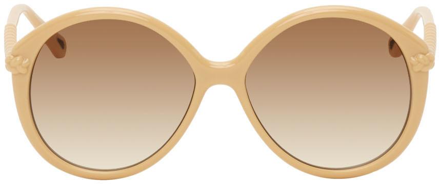 Chloé Chloé Beige Billie Sunglasses