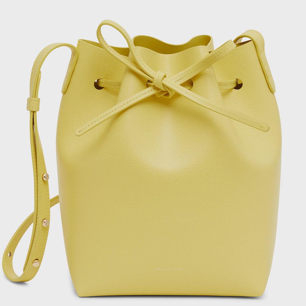 Mansur Gavriel Mini Bucket Bag - Cedro