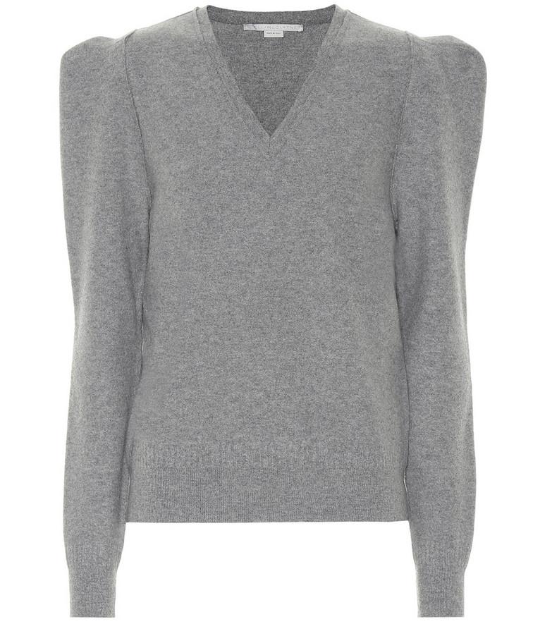 Stella McCartney Wool-blend sweater in grey