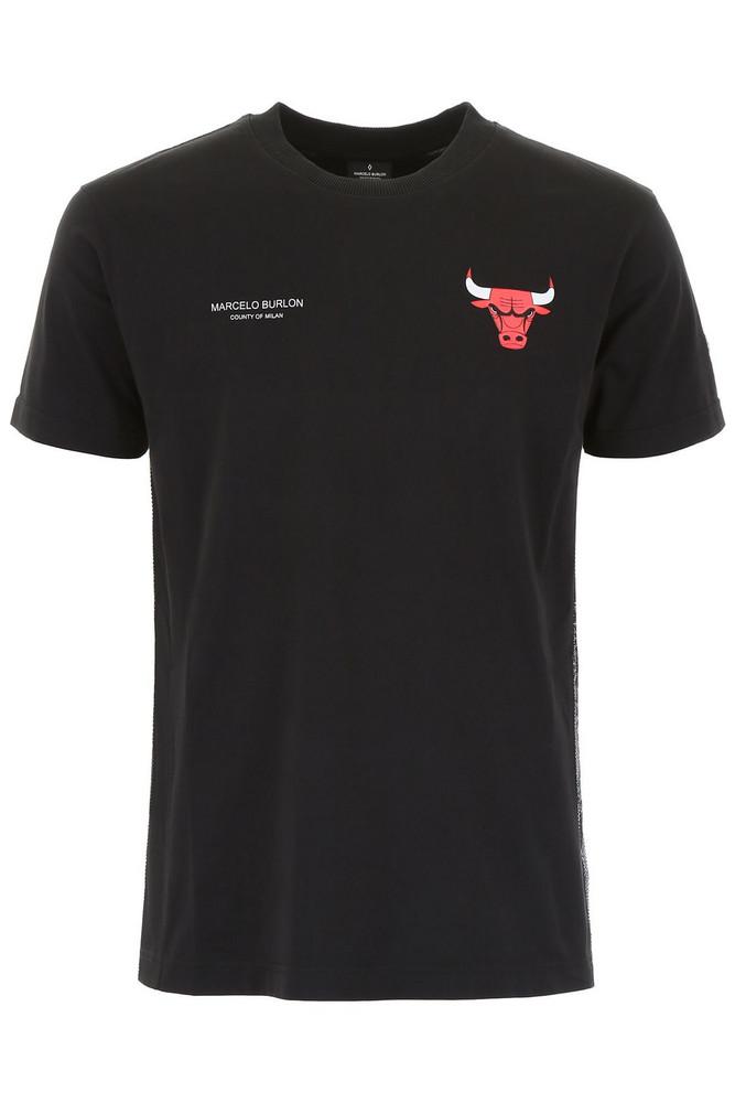 Marcelo Burlon Chicago Bulls T-shirt in black / multi