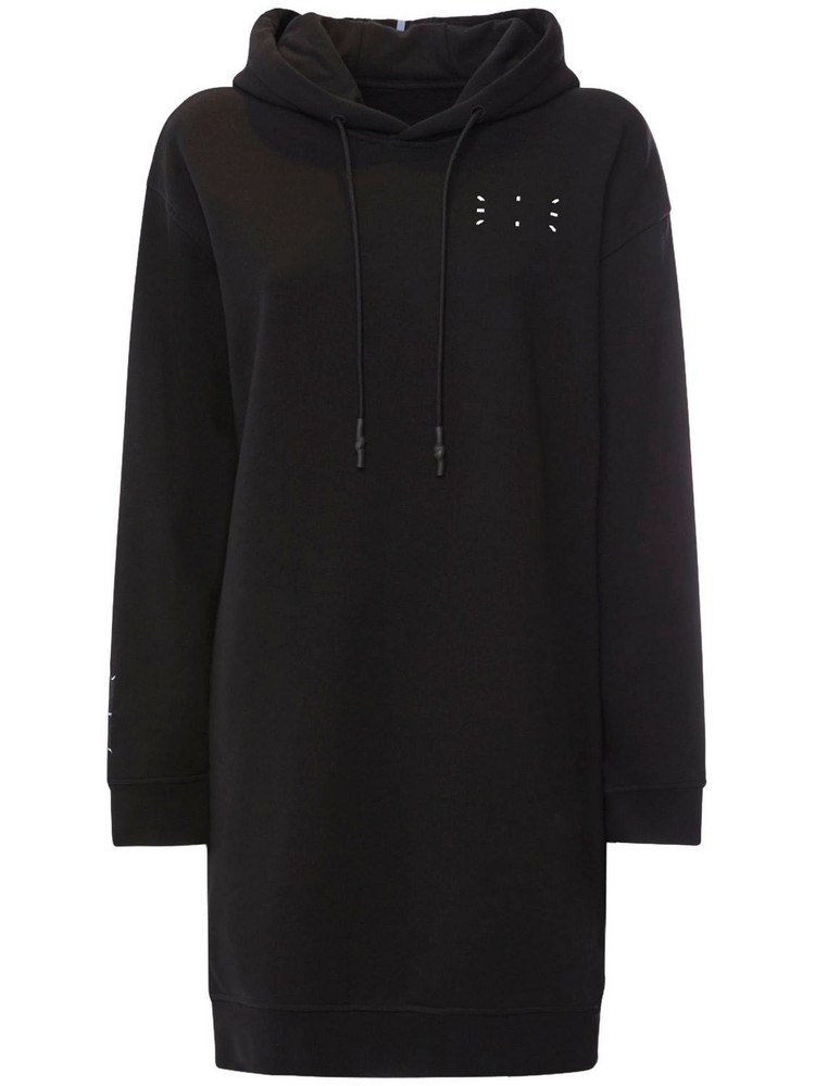 MCQ Collection 0 Jersey Hoodie Sweat Dress in black