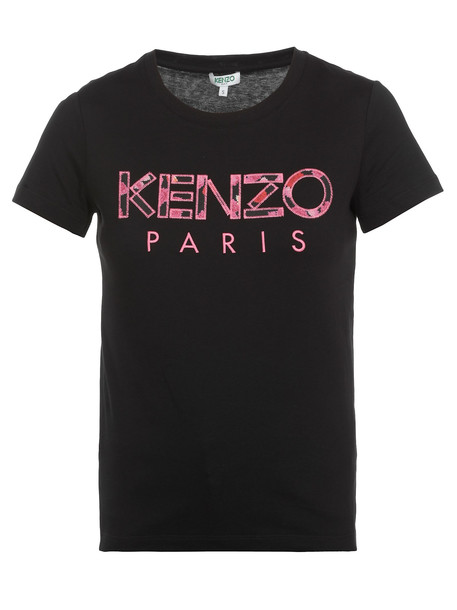 Kenzo Logo T-shirt in black