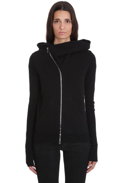 DRKSHDW Mountain Hoodie Sweatshirt In Black Cotton