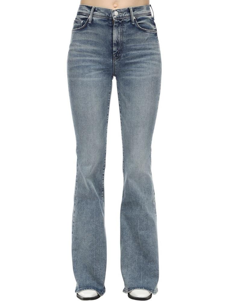 MOTHER The Super Cruiser Cotton Denim Jeans in blue