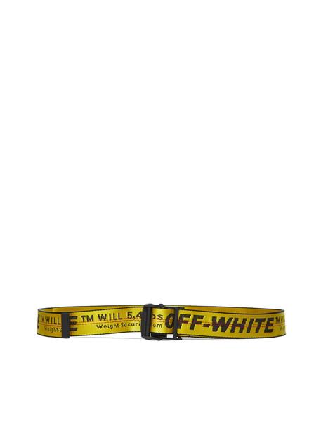 Off-white Logo Belt in nero