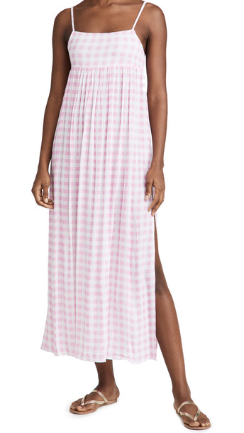Playa Lucila Maxi Slip Dress in pink