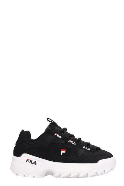 Fila Black Nabuk D-formation Sneakers