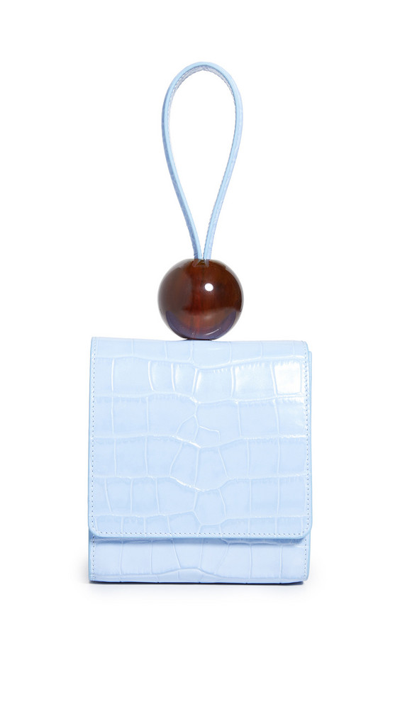By Far Ball Bag in blue