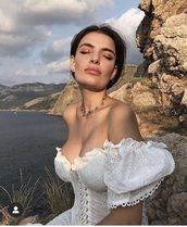 dress,white dress,white,bohoo chic,boho dress,summer dress,girly,girl