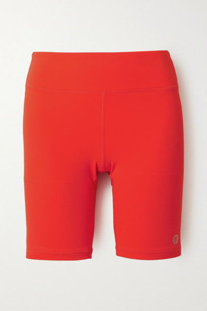 Tory Sport - Stretch-tactel Shorts - Red