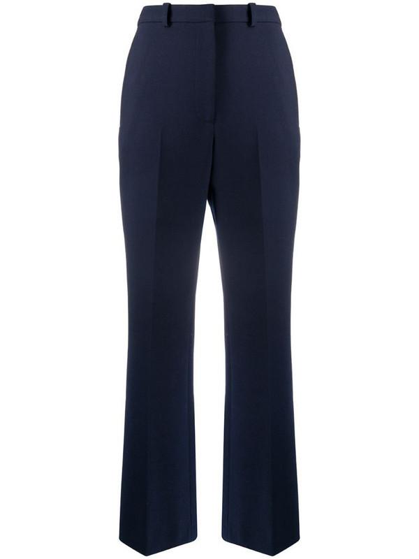 Kenzo wide-leg tailored trousers in blue