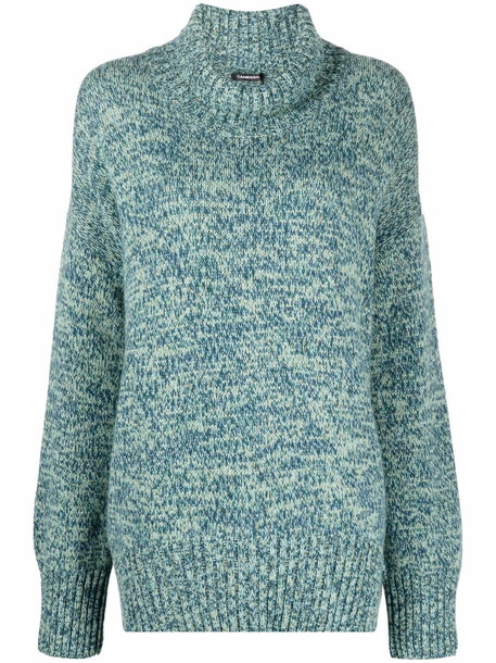 Canessa roll-neck cashmere jumper - Green