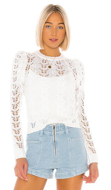 LPA Eva Sweater in White