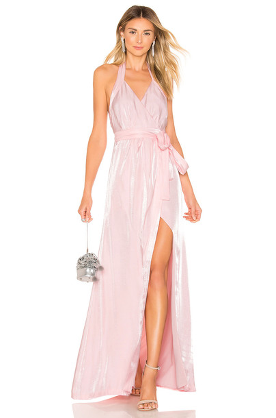 MAJORELLE Simmons Gown in pink