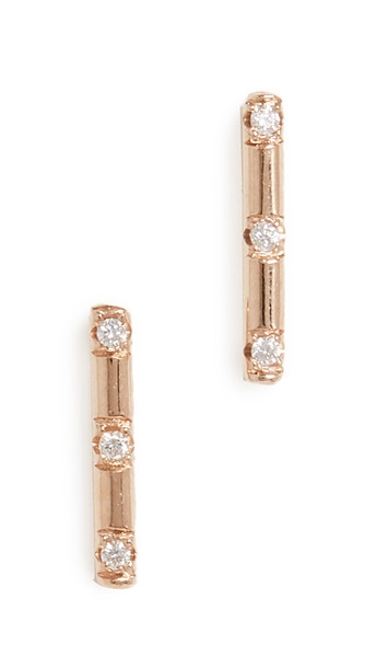 Zoe Chicco 14k Gold Round Wire Stud Earrings