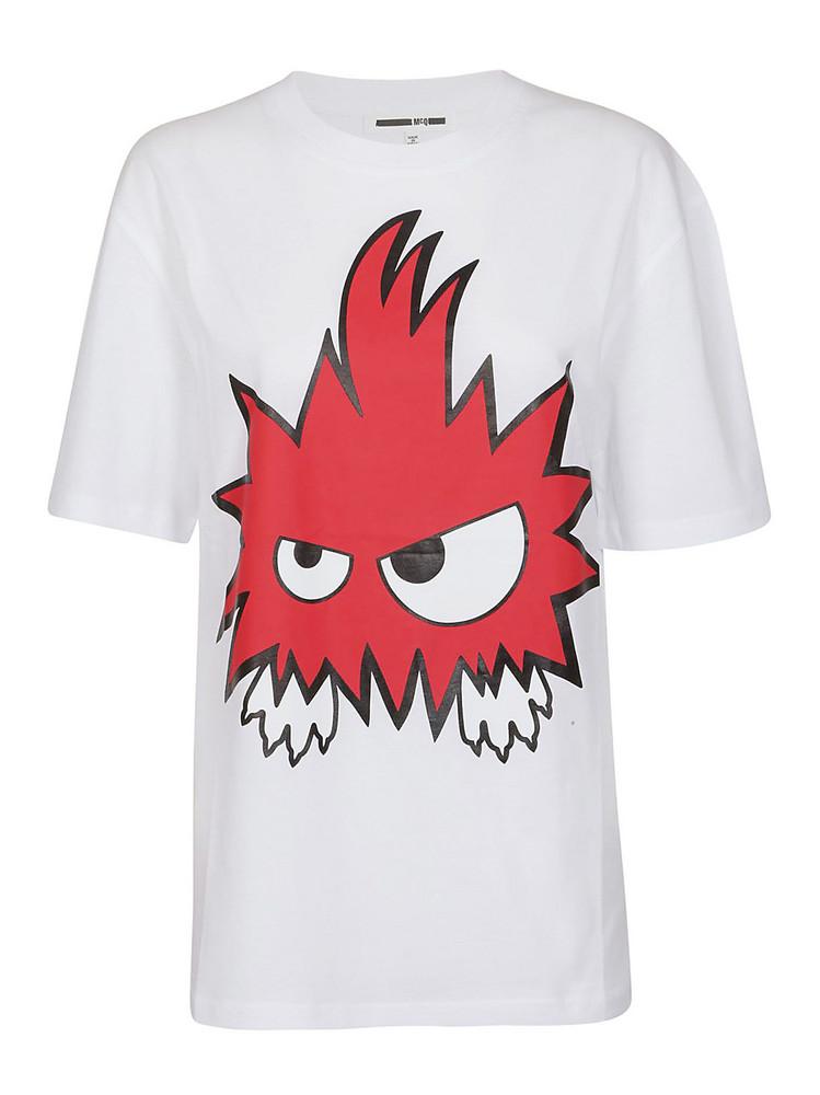 Mcq Alexander Mcqueen Printed T-shirt in white