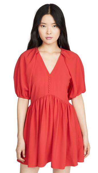 Hofmann Copenhagen Kirsti Dress in red