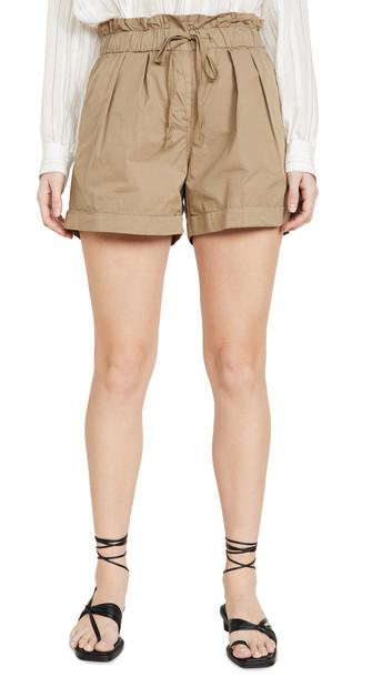 Sea Giselle Waist Tie Shorts in khaki