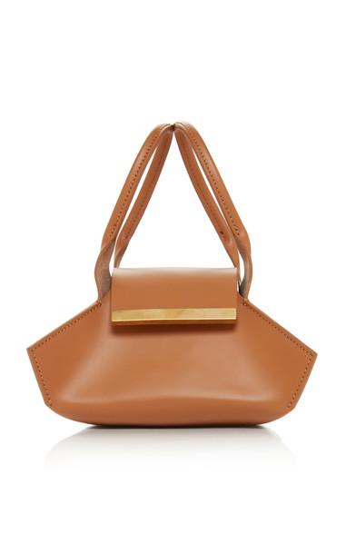 Khaore Baby Kutchra Leather Bag in brown