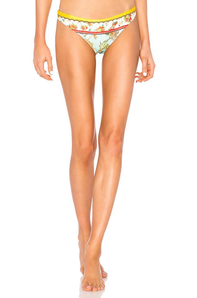 Agua Bendita Lola Bikini Bottom in mint