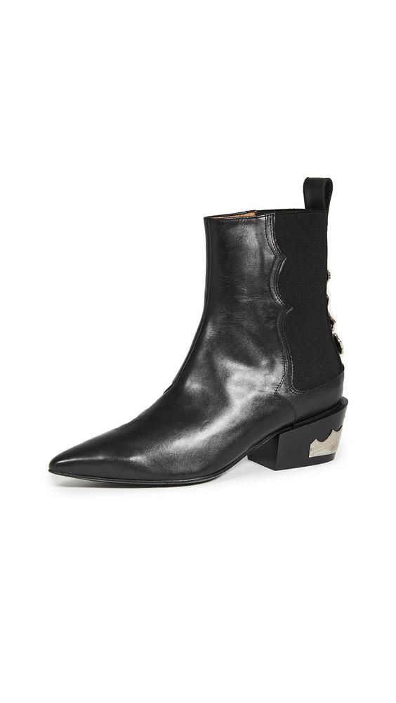 Toga Pulla Western Booties in black