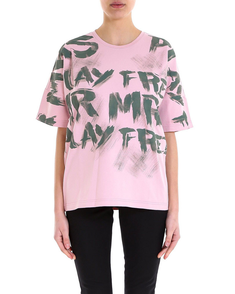 Mr & Mrs Italy T-shirt in pink