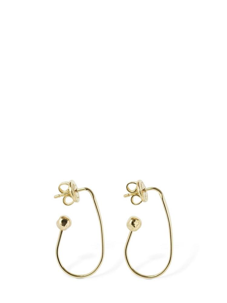 DODO 18kt Gold Oval Hoop Earrings