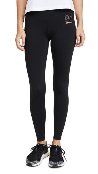 P.E NATION Ignition Leggings in black