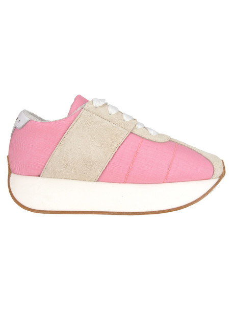 Marni Sneaker Double Sole in pink / white