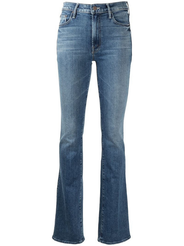 Mother The Insider bootcut jeans in blue