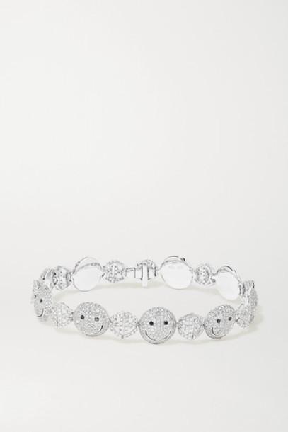 Lorraine Schwartz - 18-karat White Gold Diamond Bracelet