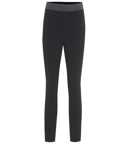 Dolce & Gabbana Cady leggings in black